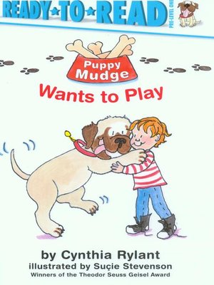 cover image of Puppy Mudge Wants to Play