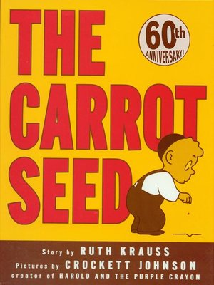 cover image of The Carrot Seed