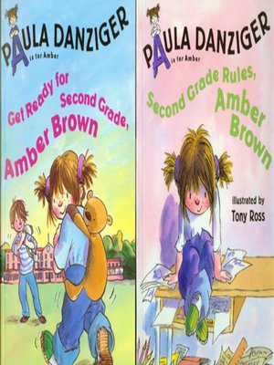 cover image of Get Ready for Second Grade, Amber Brown / Second Grade Rules, Amber Brown