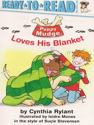cover image of Puppy Mudge Loves His Blanket