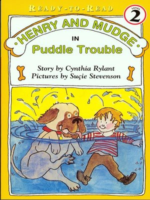 cover image of Henry and Mudge in Puddle Trouble