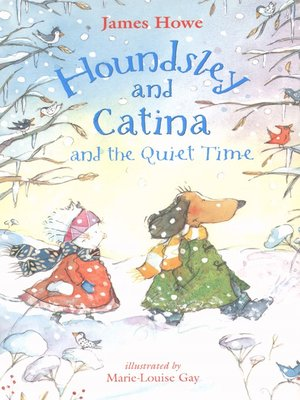 cover image of Houndsley and Catina and the Quiet Time