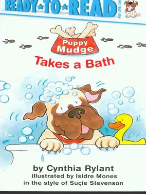 cover image of Puppy Mudge Takes a Bath
