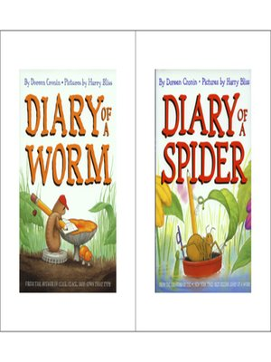 cover image of Diary of a Spider / Diary of a Worm