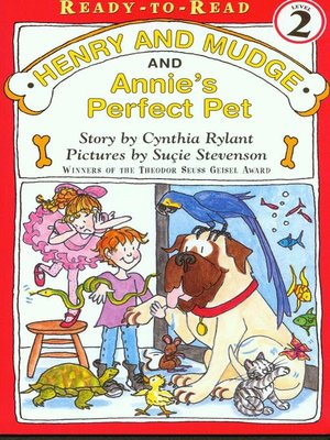 cover image of Henry and Mudge and Annie's Perfect Pet