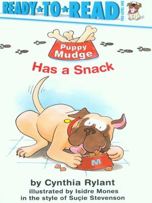 cover image of Puppy Mudge Has a Snack