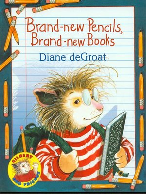 cover image of Brand-New Pencils, Brand-New Books