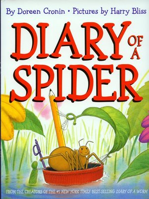 cover image of Diary of a Spider