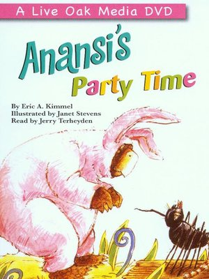 cover image of Anansi's Party Time