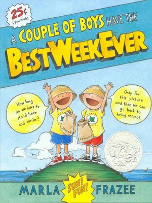 cover image of A Couple of Boys Have the Best Week Ever