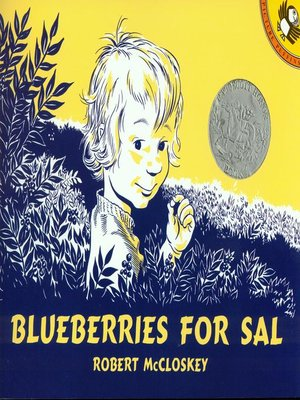 cover image of Blueberries For Sal