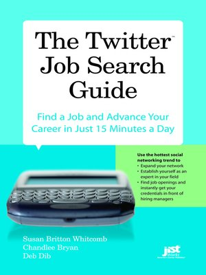 cover image of The Twitter Job Search Guide