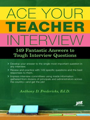 cover image of Ace Your Teacher Interview