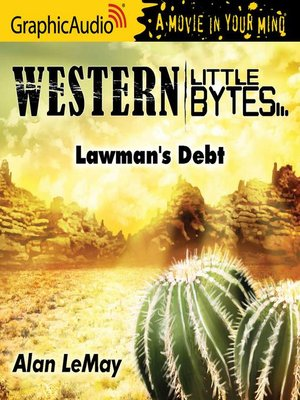 cover image of Lawman's Debt