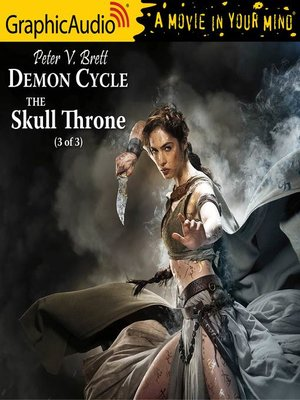 cover image of The Skull Throne (3 of 3) [Dramatized Adaptation]