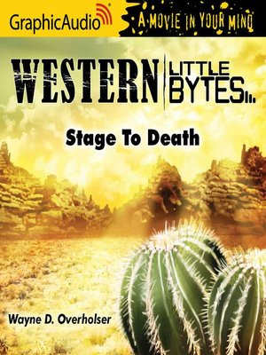 cover image of Stage to Death