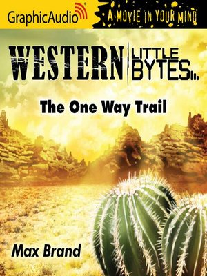 cover image of The One Way Trail