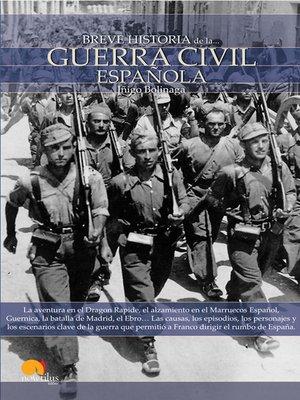 cover image of Breve Historia de la guerra civil española