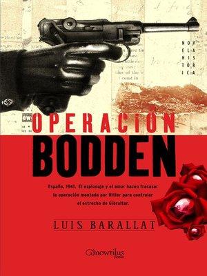 cover image of Operación Bodden
