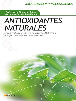 cover image of Antioxidantes Naturales