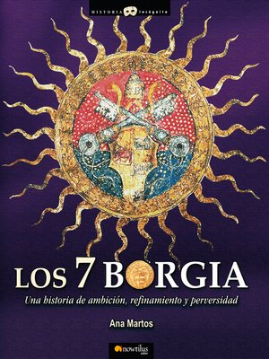 cover image of Los 7 Borgia