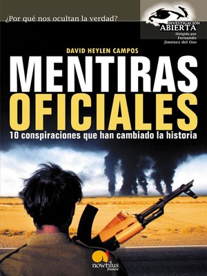 cover image of Mentiras oficiales