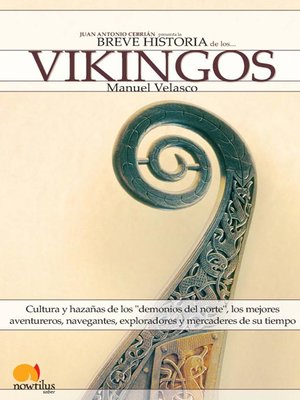 cover image of Breve historia de los vikingos