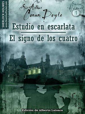 cover image of Estudio en Escarlata - El Signo de los Cuatro