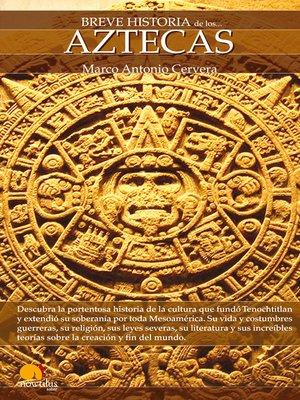cover image of Breve Historia de los Aztecas