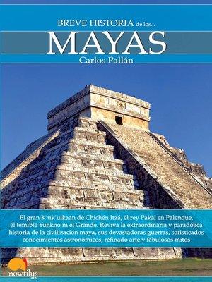 cover image of Breve Historia de los mayas