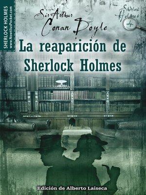 cover image of La reaparición de Sherlock Holmes