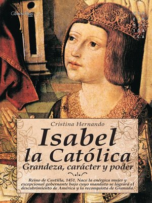 cover image of Isabel la Católica