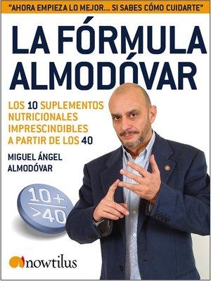 cover image of La Fórmula Almodóvar