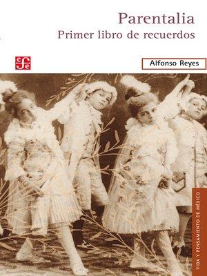cover image of Parentalia