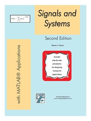 Signals and Systems with MATLAB Applications by Steven T