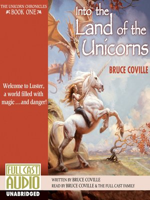 cover image of Into the Land of the Unicorns