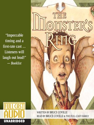 cover image of The Monster's Ring