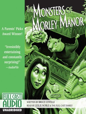 cover image of The Monsters of Morley Manor