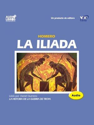 cover image of La Iliada