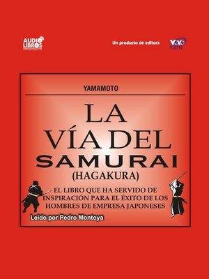 cover image of La Vía Del Samurai - Hagakura