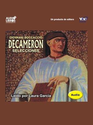 cover image of El Decameron / Selecciones
