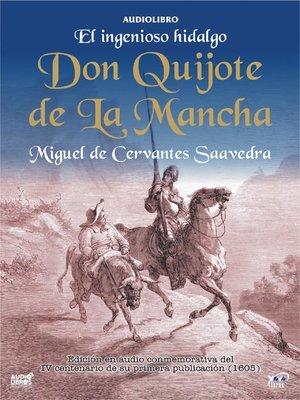 cover image of El Ingenioso Hidalgo Don Quijote De La Mancha