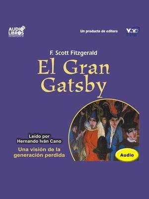 cover image of El Gran Gatsby