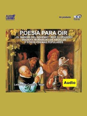 cover image of Poesía Para Oir