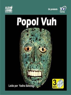 cover image of Popol Vuh