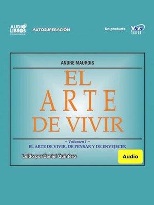 cover image of El Arte De Vivir