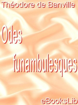 cover image of Odes funambulesques