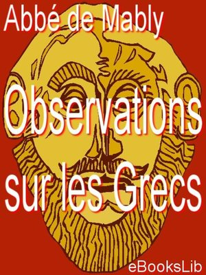cover image of Observations sur les Grecs