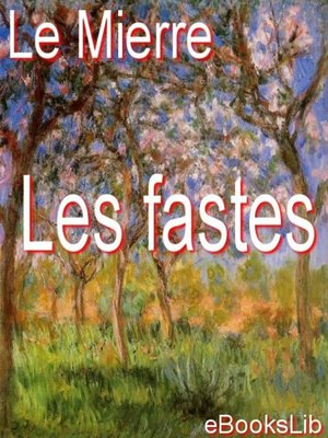 cover image of Les fastes