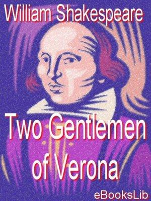 cover image of Two Gentlemen of Verona